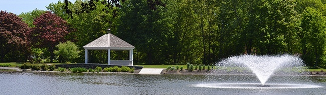 Mill Creek Park Gazebo and Fountain