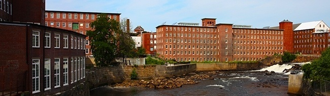 Biddeford Mills and Saco River