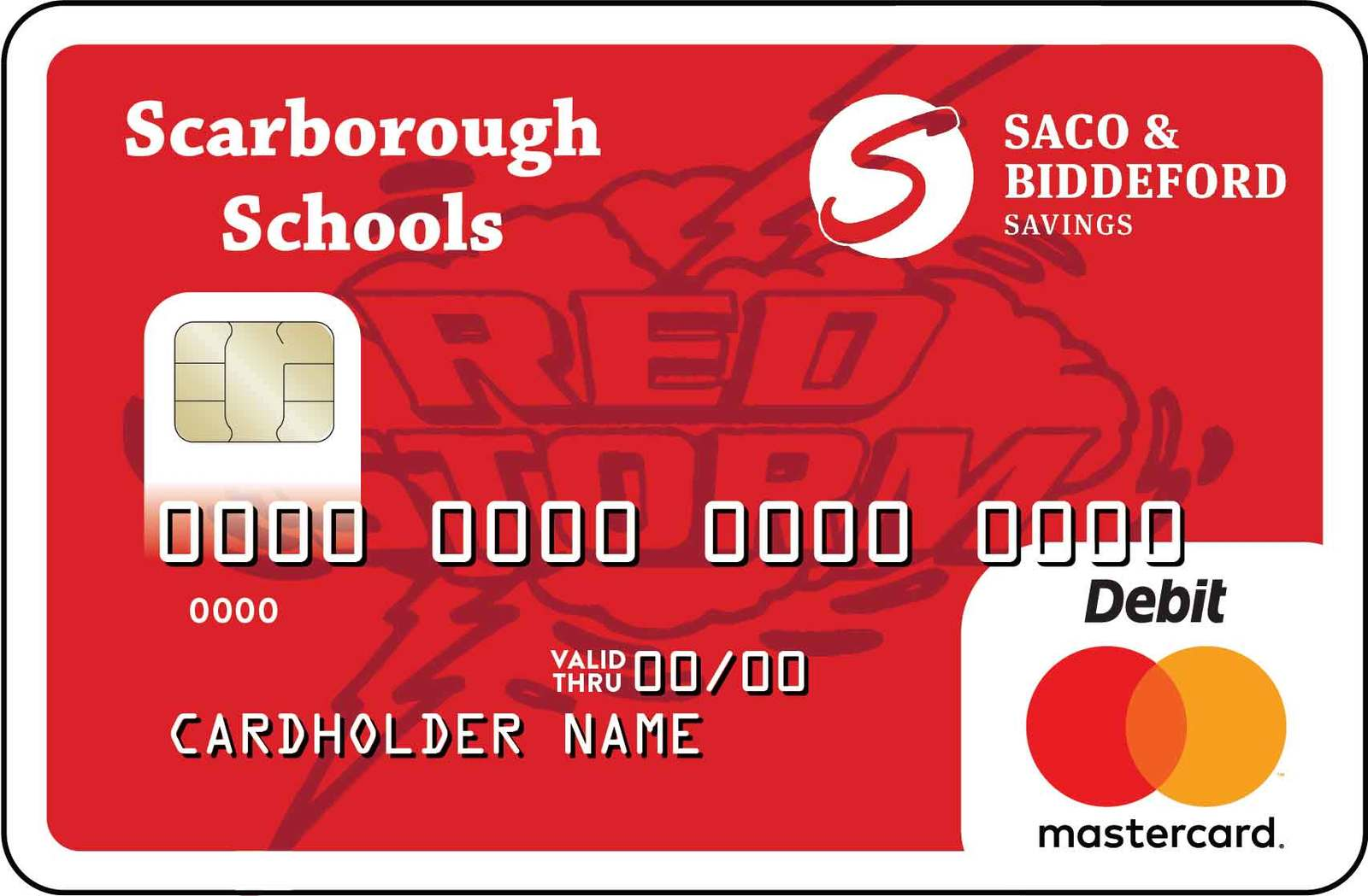 Scarborough Community Card with Red Storm Logo